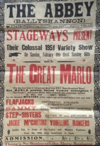 poster for the Great Marlo in 1951