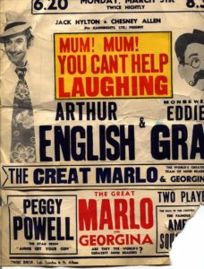 another old poster for the great marlo and georgina