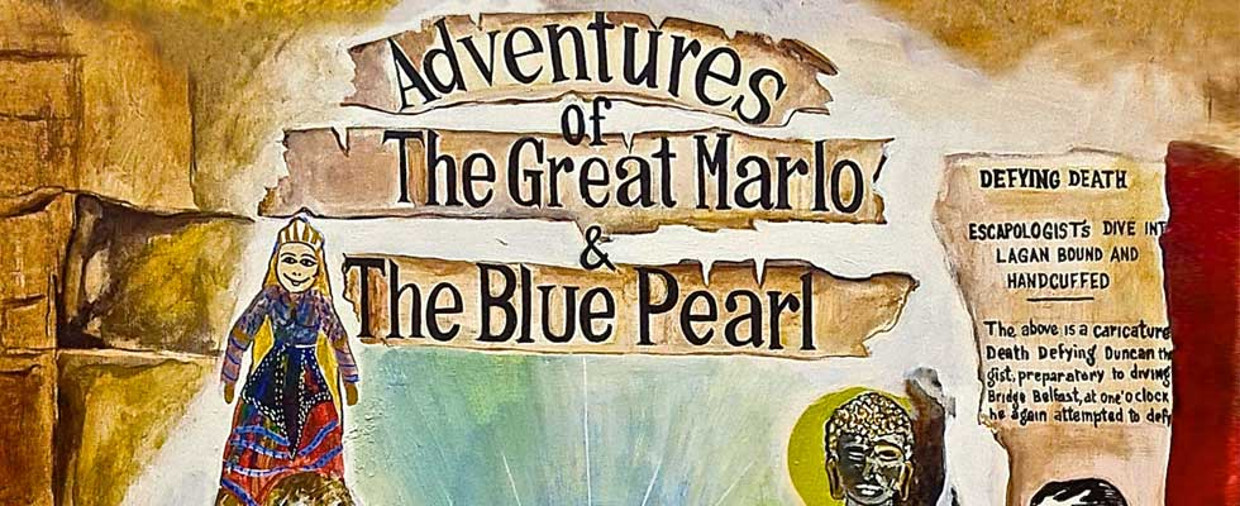 The Book Adventures of the Great Marlo & the Blue Pearl