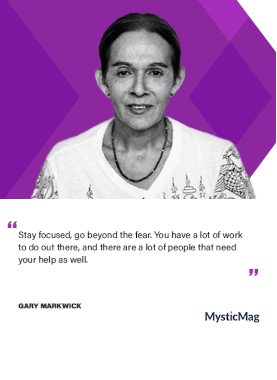 quote by Gary Markwick