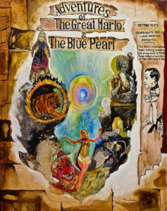 adventures of the the great marlo and the blue pearl book cover