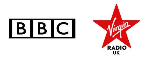bbc and virgin radio