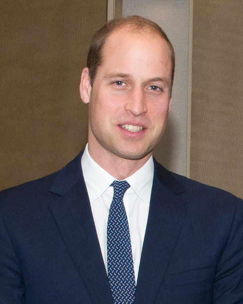 Prince William gets a palm reading