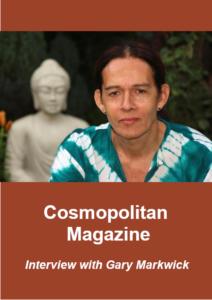 Gary Markwick interviewd by cosmopolitan magazine