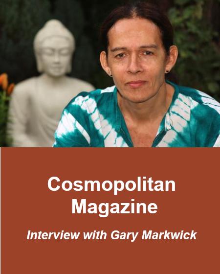 Gary i sinterviewed by Cosmopolitan magazine